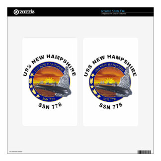 SSN 778 USS New Hampshire Decals For Kindle Fire