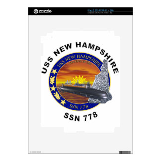 SSN 778 USS New Hampshire Decals For The iPad 2
