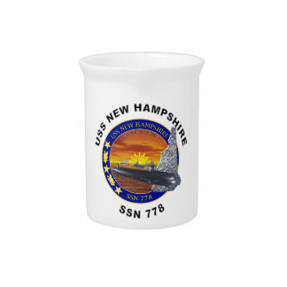 SSN 778 USS New Hampshire Drink Pitcher