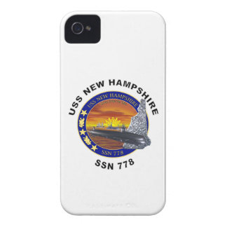 SSN 778 USS New Hampshire iPhone 4 Case-Mate Case