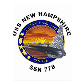SSN 778 USS New Hampshire Postales