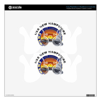 SSN 778 USS New Hampshire PS3 Controller Decal