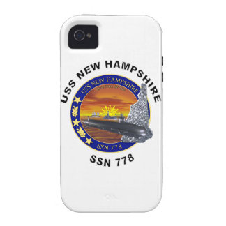 SSN 778 USS New Hampshire Vibe iPhone 4 Case