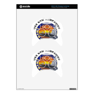 SSN 778 USS New Hampshire Xbox 360 Controller Skin
