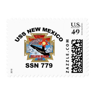 SSN 779 New Mexico Postage