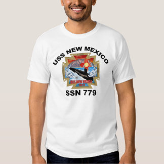 SSN 779 USS New México Camisas