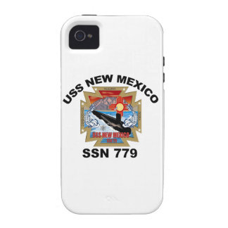 SSN 779 USS New Mexico iPhone 4 Cover