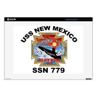 SSN 779 USS New Mexico Laptop Decals
