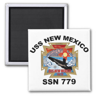 SSN 779 USS New Mexico Magnet