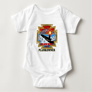 SSN 779 USS New Mexico Plankowner Baby Bodysuit