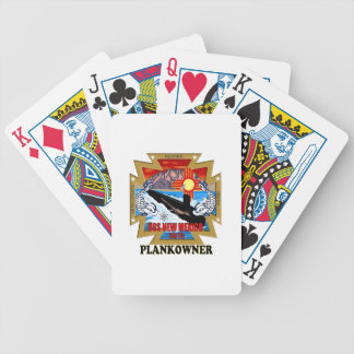 SSN 779 USS New Mexico Plankowner Bicycle Playing Cards