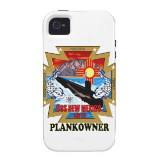 SSN 779 USS New Mexico Plankowner Case-Mate iPhone 4 Covers