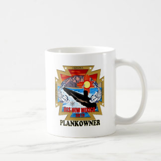 SSN 779 USS New Mexico Plankowner Coffee Mug