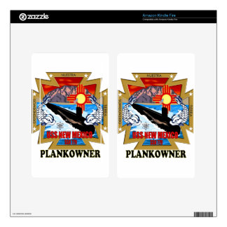 SSN 779 USS New Mexico Plankowner Decal For Kindle Fire