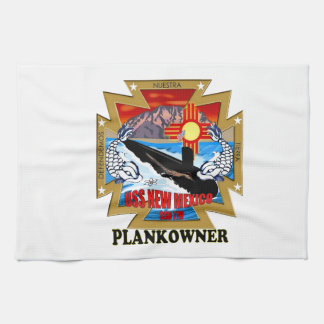 SSN 779 USS New Mexico Plankowner Hand Towel