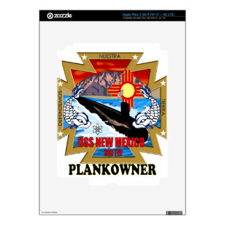SSN 779 USS New Mexico Plankowner iPad 3 Skin