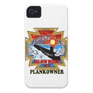 SSN 779 USS New Mexico Plankowner iPhone 4 Cover