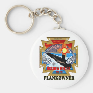 SSN 779 USS New Mexico Plankowner Keychain