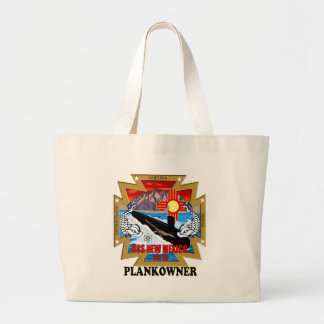 SSN 779 USS New Mexico Plankowner Large Tote Bag