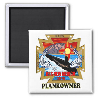 SSN 779 USS New Mexico Plankowner Magnet