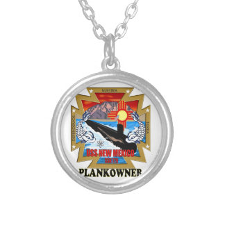 SSN 779 USS New Mexico Plankowner Round Pendant Necklace