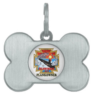 SSN 779 USS New Mexico Plankowner Pet ID Tag