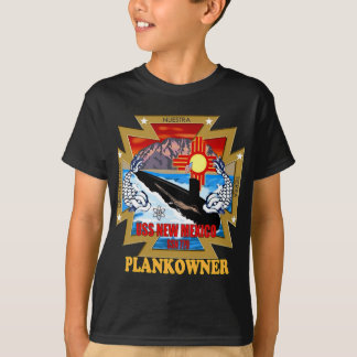 SSN 779 USS New México Plankowner Remeras