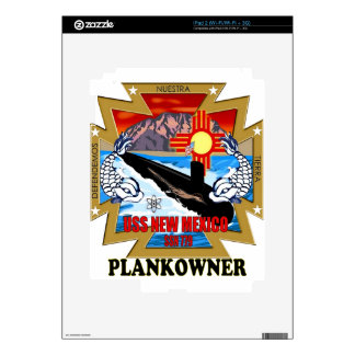 SSN 779 USS New Mexico Plankowner Skins For The iPad 2