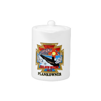 SSN 779 USS New Mexico Plankowner Teapot