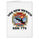 SSN 779 USS New México Tarjeta De Felicitación