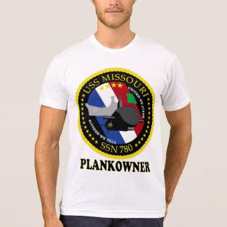 SSN 780 Missouri Plankowner Remera