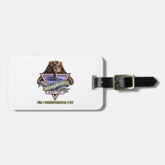SSN 781 PCU California Pre-Commissioning Unit Bag Tag
