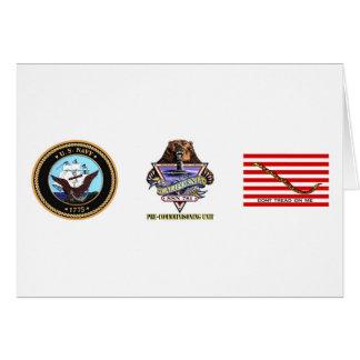 SSN 781 PCU California Pre-Commissioning Unit Card