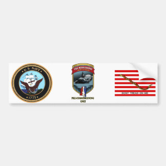 SSN 782 PCU Mississippi Pre-Commissioning Unit Bumper Sticker