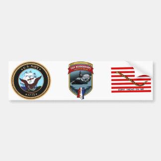 SSN 782 USS Mississippi Bumper Sticker