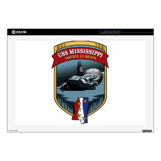 SSN 782 USS Mississippi Decal For Laptop