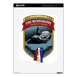 SSN 782 USS Mississippi Decals For iPad 3