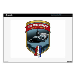 SSN 782 USS Mississippi Laptop Skin