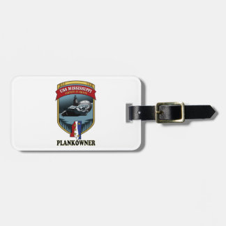 SSN 782 USS Mississippi Plankowner Bag Tag