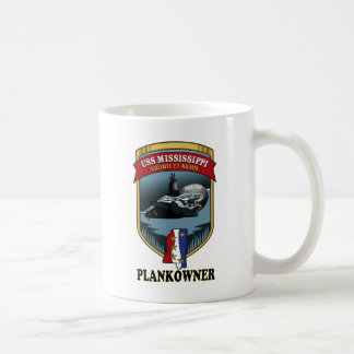 SSN 782 USS Mississippi Plankowner Coffee Mug