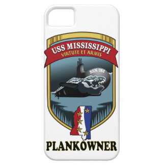 SSN 782 USS Mississippi Plankowner iPhone 5 Carcasas
