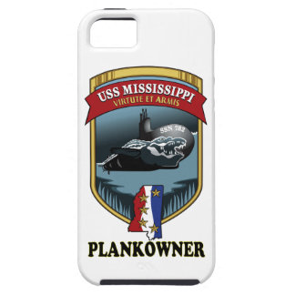 SSN 782 USS Mississippi Plankowner Funda Para iPhone 5 Tough
