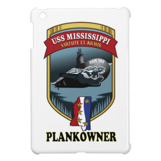 SSN 782 USS Mississippi Plankowner iPad Mini Cover
