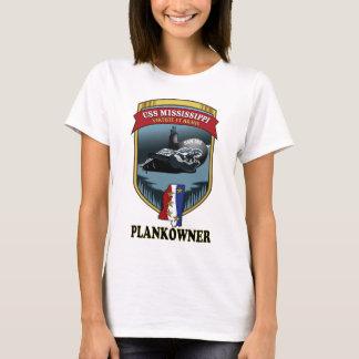 SSN 782 USS Mississippi Plankowner Playera