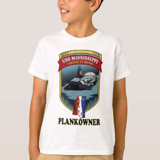 SSN 782 USS Mississippi Plankowner Remera