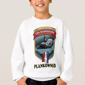 SSN 782 USS Mississippi Plankowner Sudadera
