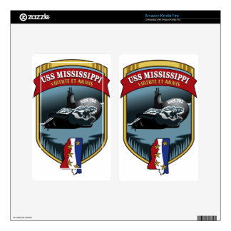 SSN 782 USS Mississippi Skins For Kindle Fire
