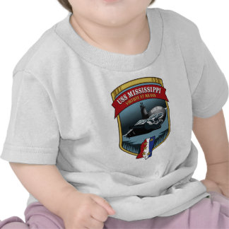 SSN 782 USS Mississippi Tshirt