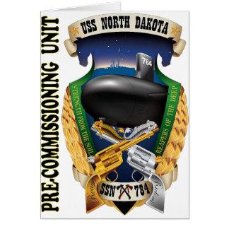 SSN-784 PCU North Dakota Pre-Commissioning Unit Card