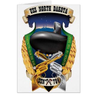 SSN-784 USS North Dakota Card